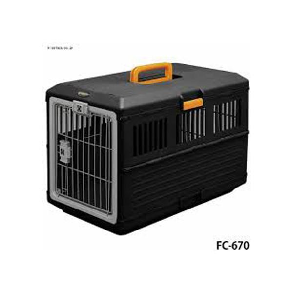 4905009993611航空運輸籠-黒/橙993611