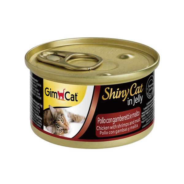 竣寶化毛貓罐雞肉加鮮蝦加麥芽70g-罐(24/箱) 4002064413273