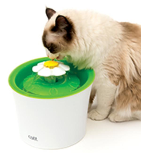 【美國赫根 HAGEN】CATIT2.0花朵自動噴泉飲水器