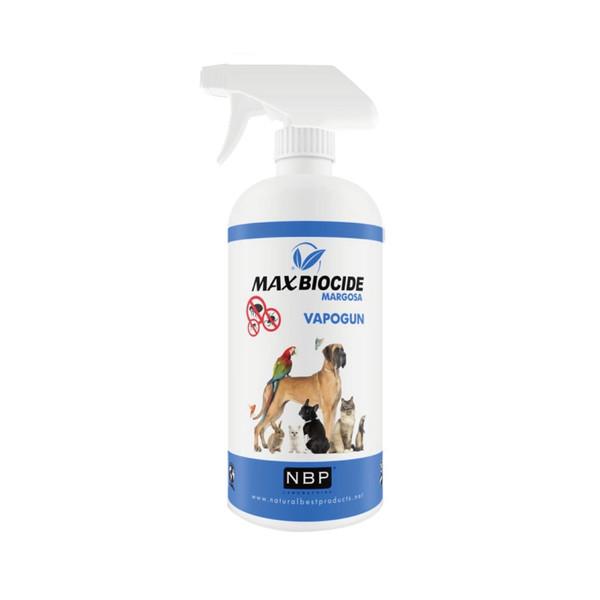 【Max Biocide 西班牙NBP】新型苦楝精油除蚤噴劑500ML