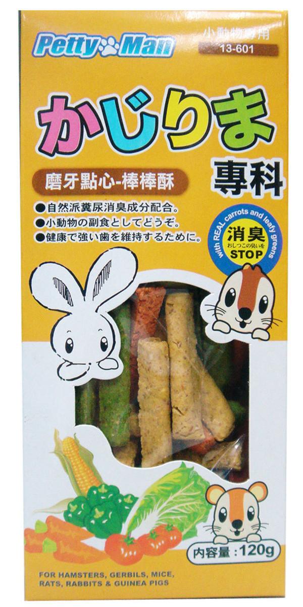 4712832066326PTM小動物磨牙點心餅-棒棒酥120g