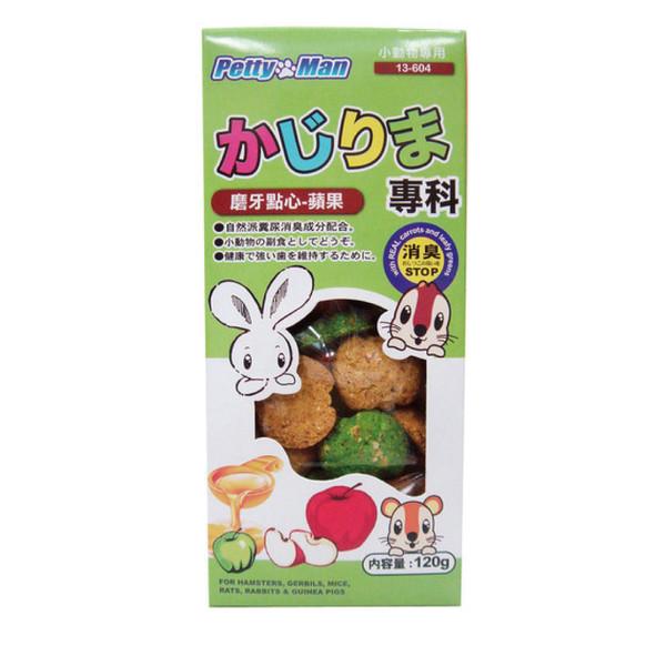 4712832066357PTM小動物磨牙點心餅-蘋果120g