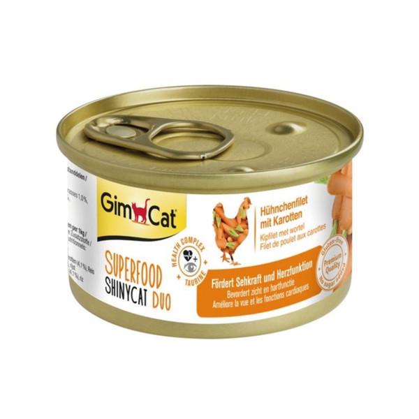 竣寶超級貓罐-雞肉+胡蘿蔔70G-24罐/箱 4002064414508