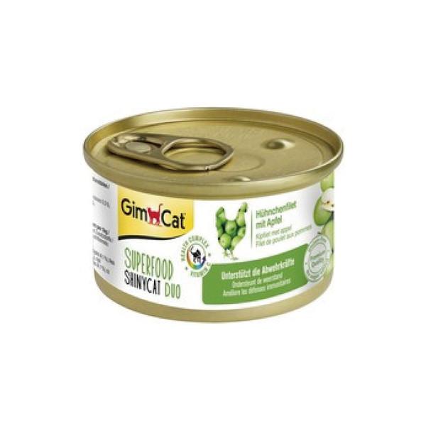 竣寶超級貓罐-雞肉+蘋果70G-24罐/箱 4002064414515