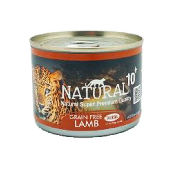 【NATURAL10+】原野主食罐原野羔羊185g-罐