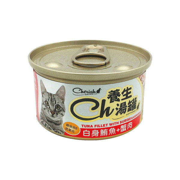 CH養生湯罐-白身鮪魚+蟹肉4711481505880