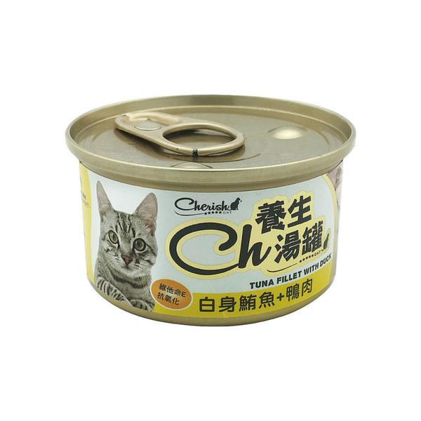CH養生湯罐-白身鮪魚+鴨肉80g 4711481505897