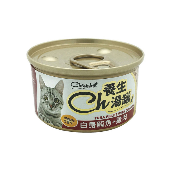 CH養生湯罐-白身鮪魚+雞肉80g 4711481505866