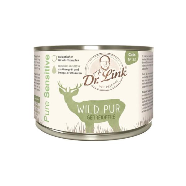 林克博士低敏(貓)主食罐200g-鹿肉4250499203109