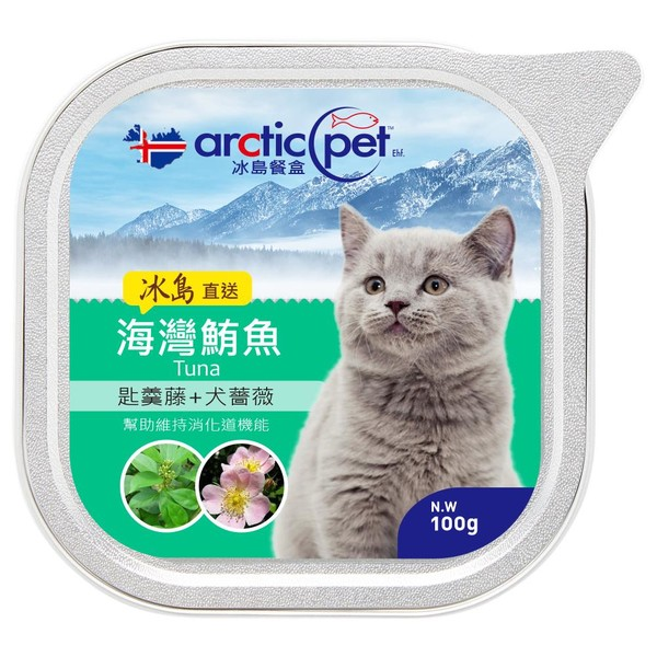 冰島餐盒(貓)100g-海灣鮪魚.匙羹藤.犬薔薇 5694230220083