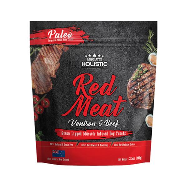 【 Absolute holistic 超越巔峰】犬鮮食肉片100g   共2種口味