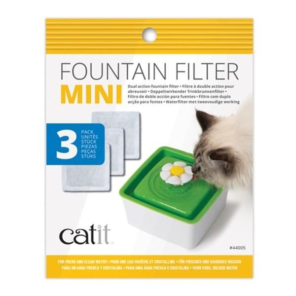 【美國赫根 HAGEN】CATIT2.0迷你飲水器活性碳濾棉(3入1包)