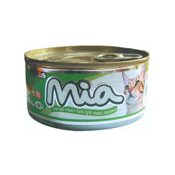 4719865824190咪亞機能貓-鮪魚+小魚干160g-罐(48/箱)
