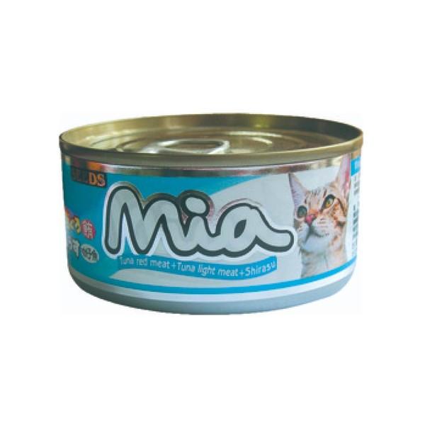 4719865824220咪亞機能貓-鮪魚+吻仔魚160g-罐(48/箱)