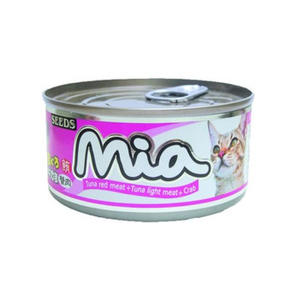 4719865824176咪亞機能貓-鮪魚+蟹肉160g-罐(48/箱)