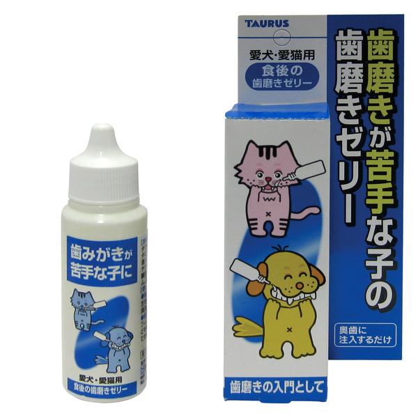 金牛座潔牙凝膠犬貓用30g 4512063151200