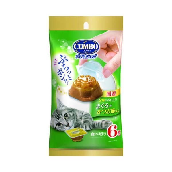4902112068397Combo魚泥幸福鮪魚果凍慕斯-柴魚片6入