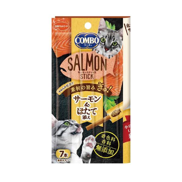 4902112050743Combo北大西洋鮭魚點心棒-帆立貝 7條