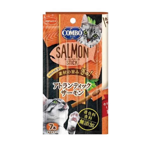 【Combo】北大西洋鮭魚點心棒 7條  共4種口味
