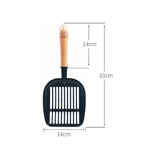 2302100501332不鏽鋼貓砂鏟(多款洞圖樣) 13*33cm