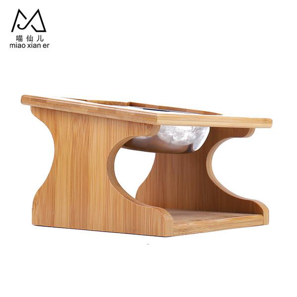 2302100306531竹木簡約餐桌造型不鏽鋼碗(單碗)17.5*18.5cm