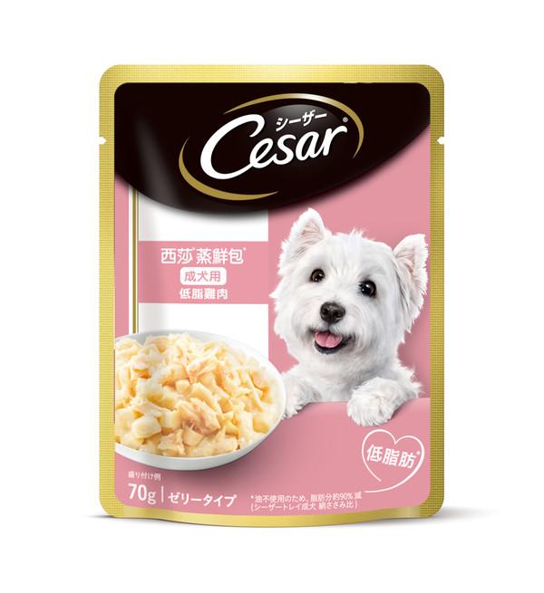 4902397812500西莎蒸鮮包成犬低脂雞肉70g(16/盒)