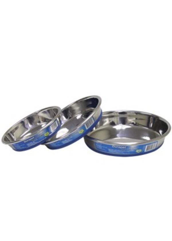 【Durapet 防滑不銹鋼寵物食器】 防滑貓碗(S/L)