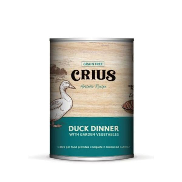 642872501447Ceres克瑞斯紐西蘭天然主食[狗]罐-低敏鴨(375G)-(12/箱)