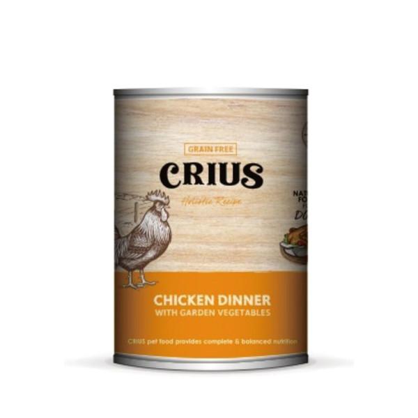 642872501416Ceres克瑞斯紐西蘭天然主食[狗]罐-放養雞(375G)-(12/箱)