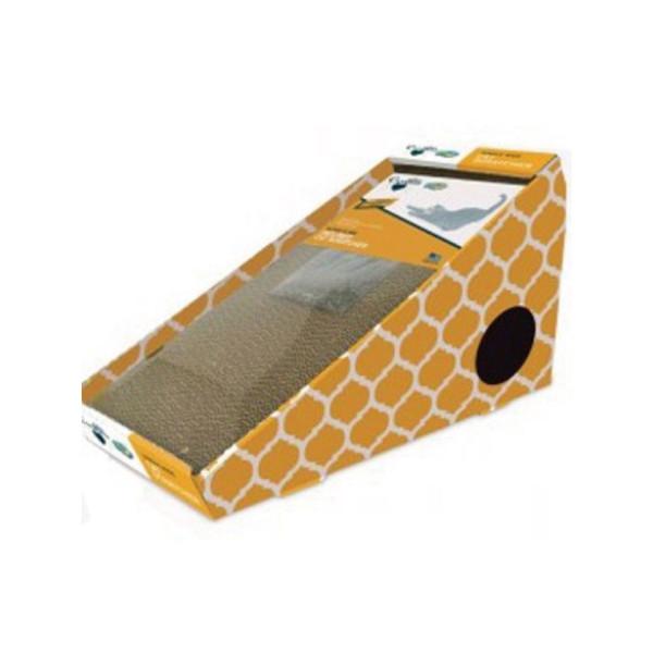 780824116896貓草填充貓抓板-滑梯型