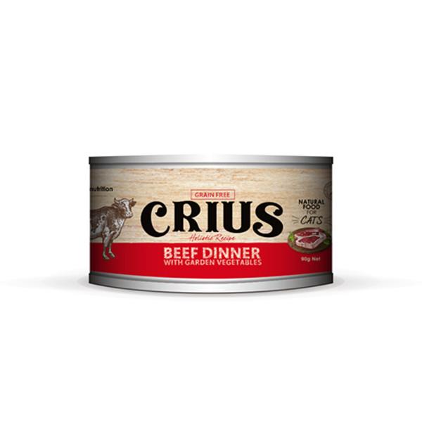 Ceres克瑞斯紐西蘭天然主食[貓]罐-風味牛90G