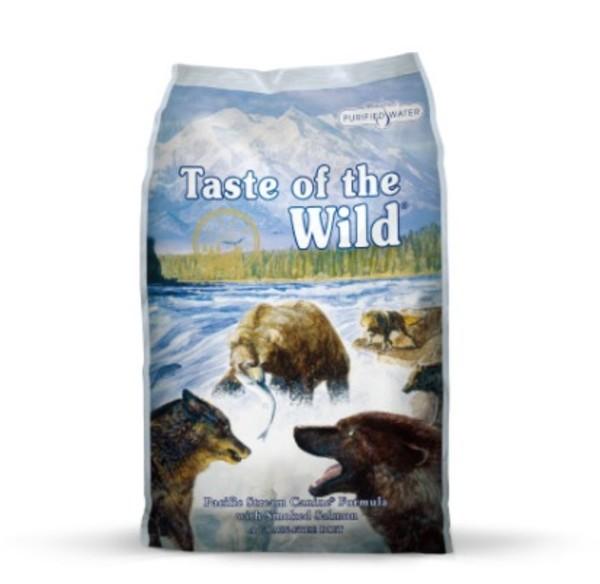 【Taste of the Wild 海陸饗宴】太平洋鮭魚海鮮(犬) 400g/2.27kg/5.6kg