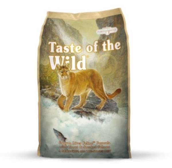 【Taste of the Wild 海陸饗宴】峽谷河鱒魚燻鮭魚貓糧-(400g/2.27KG/7KG)