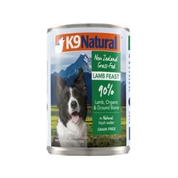 9421904014404 紐西蘭K9(犬)鮮燉生肉主食狗罐-無穀羊370g