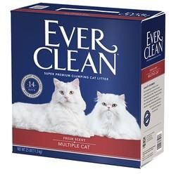 (礦)EVER CLEAN藍鑽美規紅粗砂(含香)25LB