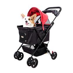 小資國民寵物推車-胭脂紅 1233014000