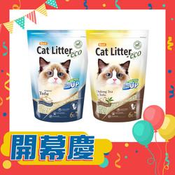 【特殺優惠】卡爾豆腐貓砂-原味+烏龍茶(共12L)