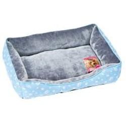 1129115600MK法蘭絨方型睡床-藍567134