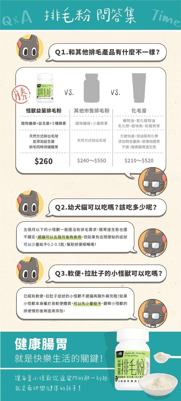 1468005200腸胃益菌排毛粉(50g)