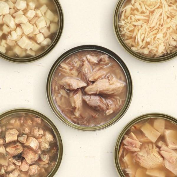1468004600無膠副食罐(80g)-雞絲肉煲餐
