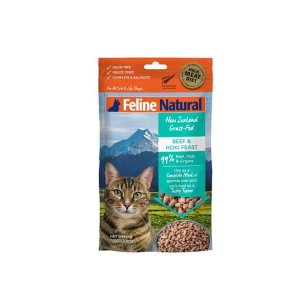 【紐西蘭 K9 Natural】凍乾生食貓咪飼料   共2種口味