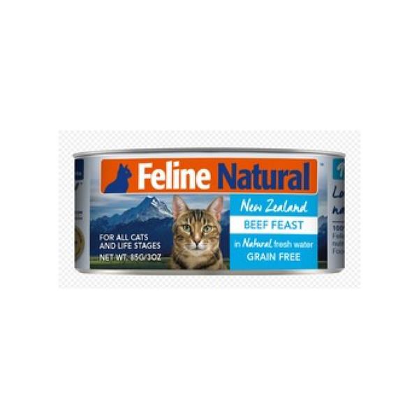 【紐西蘭 K9 Natural】鮮燉生肉主食貓罐-無穀牛85g