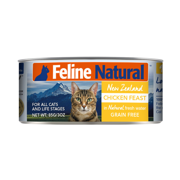 9421904518537 紐西蘭K9(貓)鮮燉生肉主食貓罐-無穀雞85g