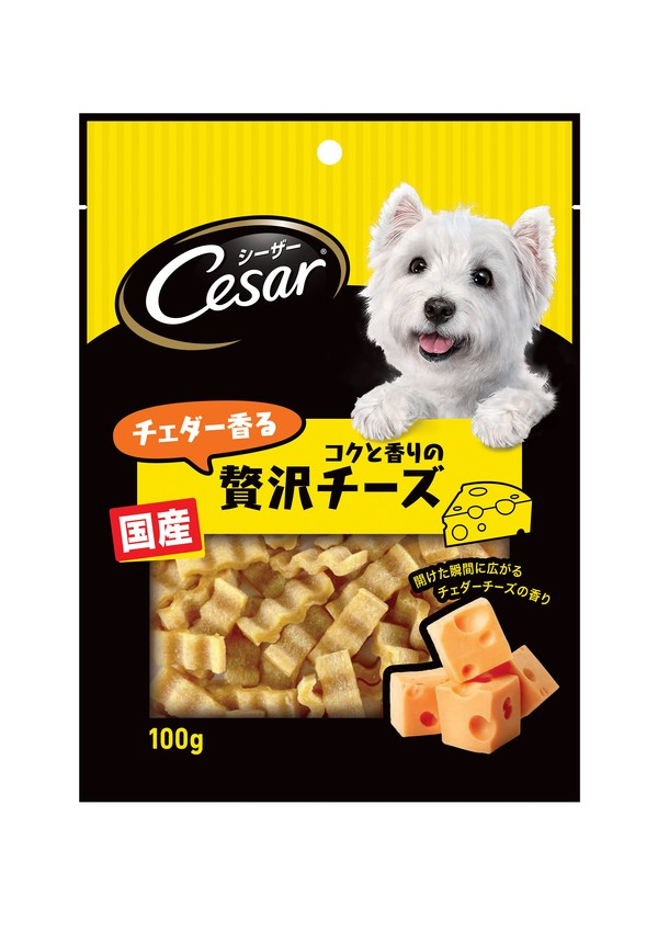 【即期促銷】西莎點心(犬)贅沢濃厚切達起司條/牛肉切塊口味100g