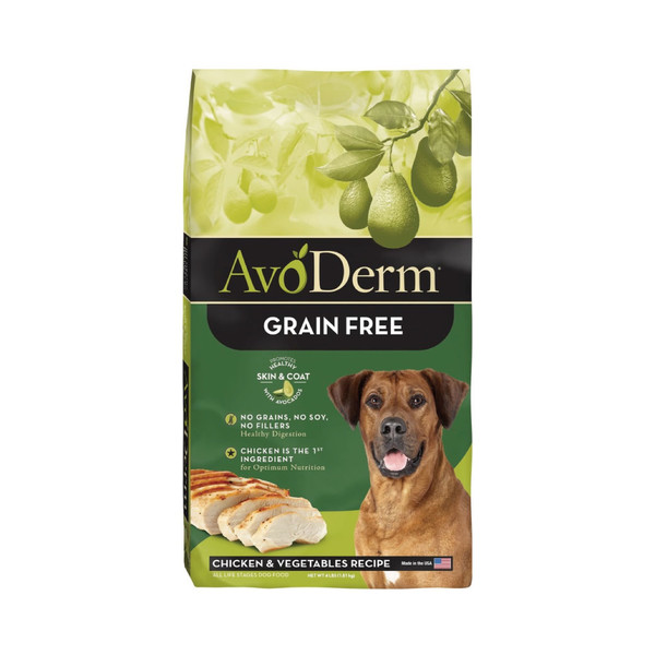 【Avoderm 愛酪麗】無穀成幼犬雞肉+蔬菜 1磅/4磅/24磅