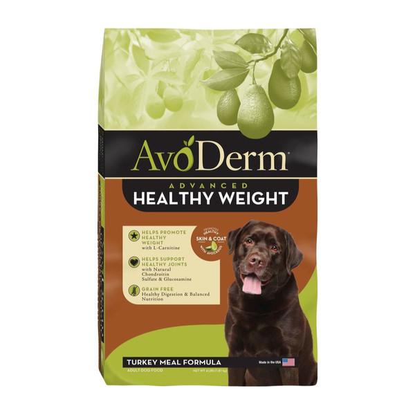 【Avoderm 愛酪麗】無穀成犬火雞肉體重管理 4磅/24磅