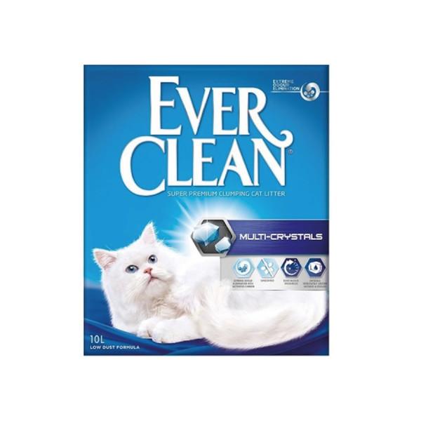 (礦)EVER CLEAN藍鑽歐規水晶結塊貓砂10L