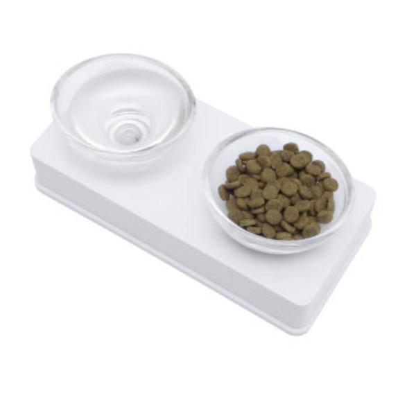 22517545324Hagen 藝術餐盤雙碗套組 白色