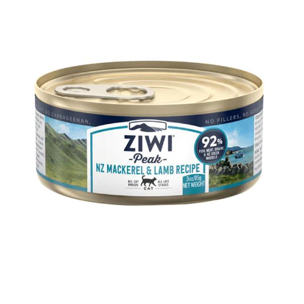【ZiwiPeak 巔峰】92%鮮肉貓主食罐85g-共7種口味