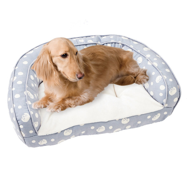 【MARUKAN】法蘭絨沙發型睡床-灰